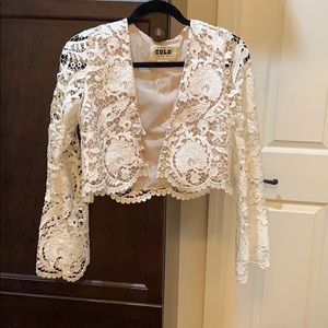 stone cold fox blouse size 2 / M